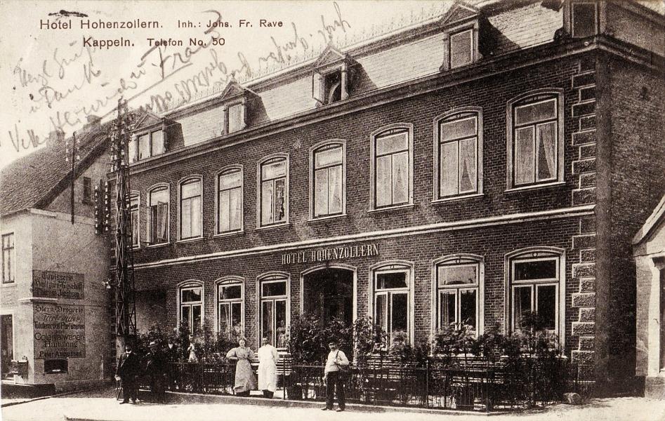 Kappeln - Hotel Hohenzollern (1914)