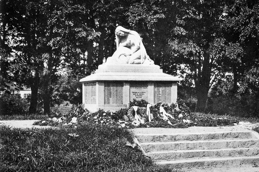 Kappeln - Friedhof - Denkmal (1926)