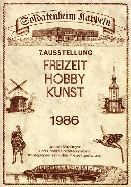 Ausstellungskatalog 1986 - Titelblatt