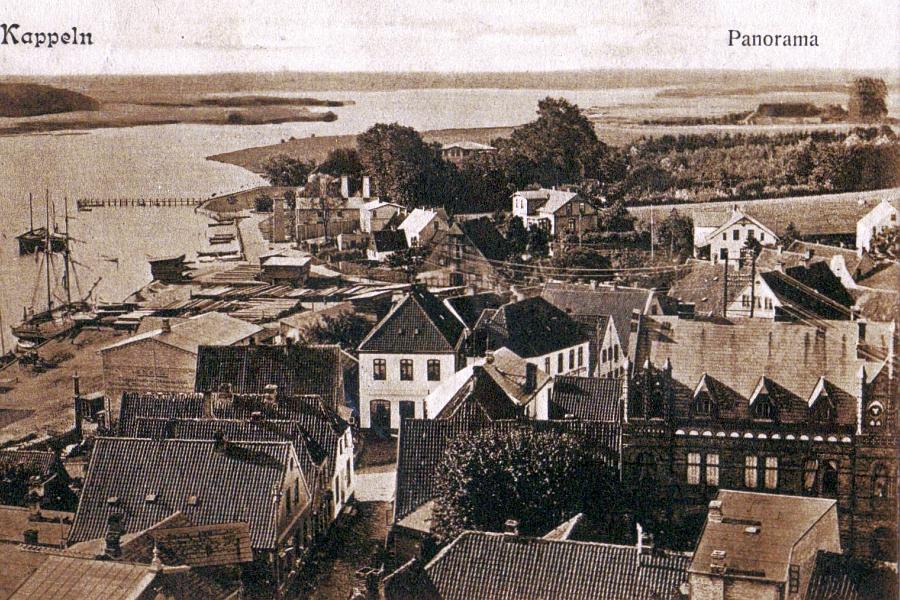 Kappeln - Ansichtskarte von 1906