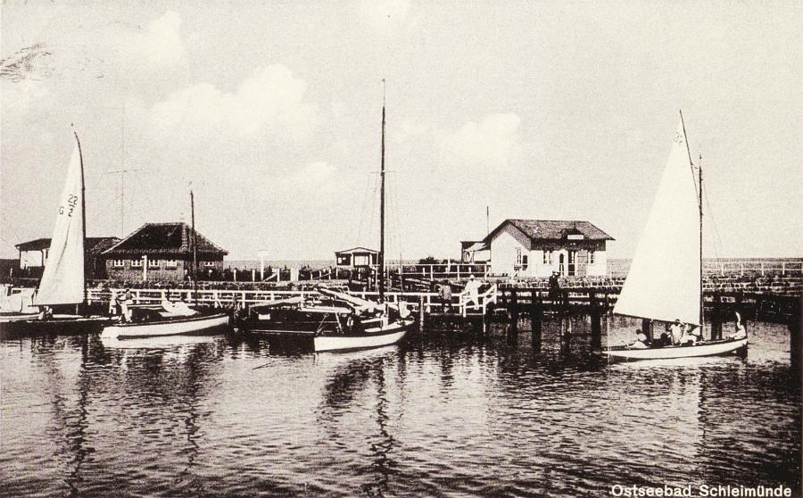 Lotseninsel Schleimünde (1934)