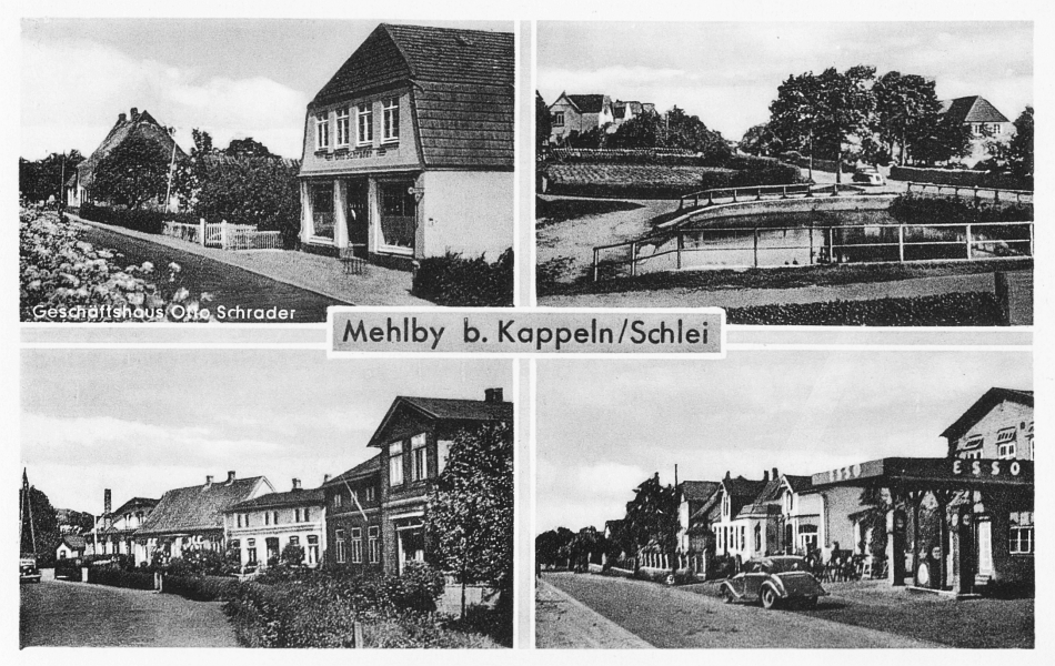 Mehlby - Ansichtskarte