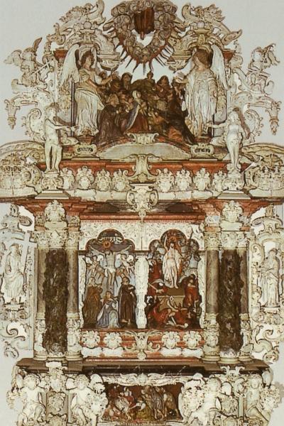 Kappeln - Godewerdt-Altar von 1641