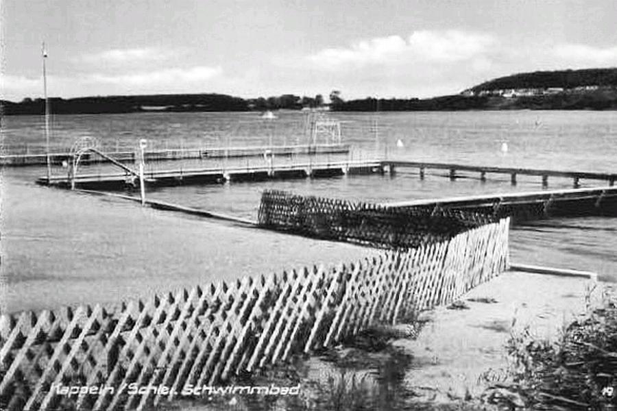 Kappeln - Badeanstalt 1962