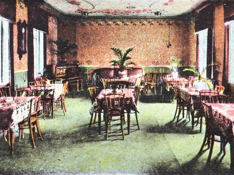 Bilderrätsel Nr. 182 - Central-Hotel - Clubzimmer (1910)