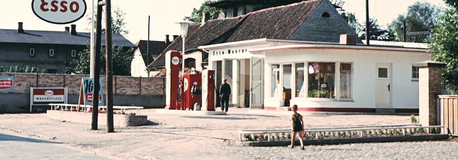 Bilderrätsel Nr. 123 - Gerichtsstraße - Tankstelle Meese