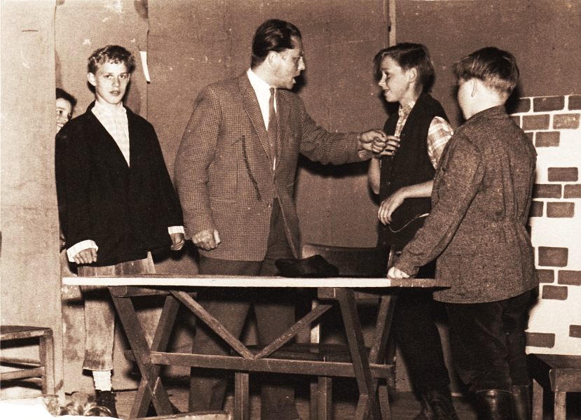 Bilderrätsel Nr. 127 - Klaus-Harms-Schule - Theater 1961