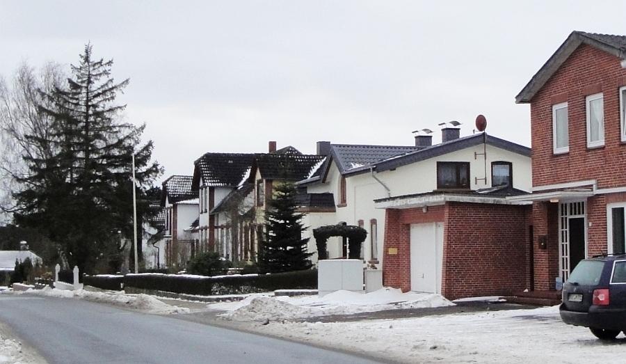 Mehlby - Flensburger Straße - Foto: Michaela Bielke (2013)