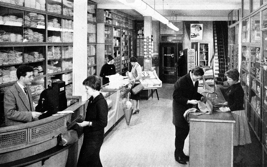 Bilderrätsel Nr. 96 - Kaufhaus Johannsen (Kappeln 1959)