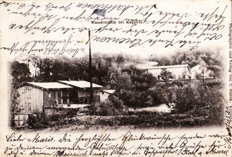 Wassermühle bei Kappeln (1905)