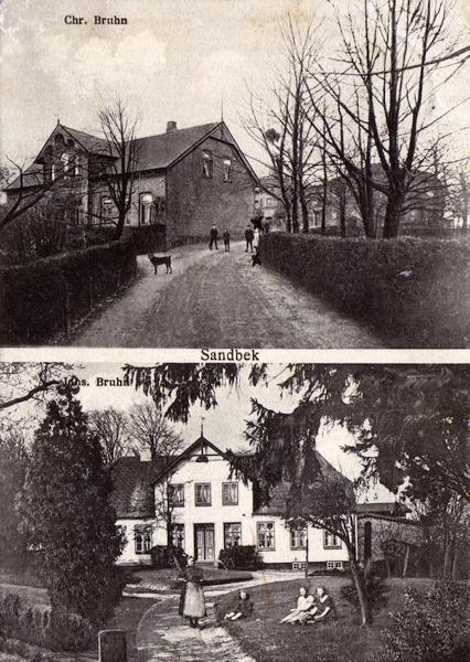 Chr. Bruhn, Sandbek