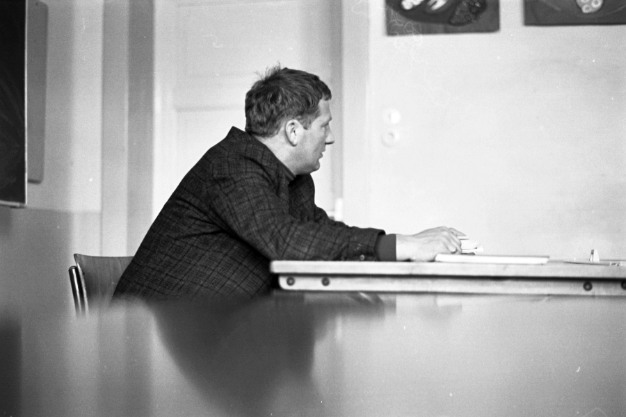 Bilderrätsel Nr. 528 - Foto: Manfred Rakoschek (1969)