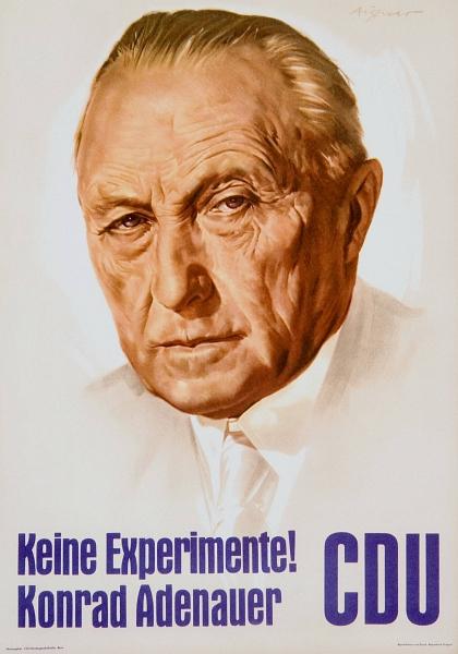CDU-Wahlplakat 1957