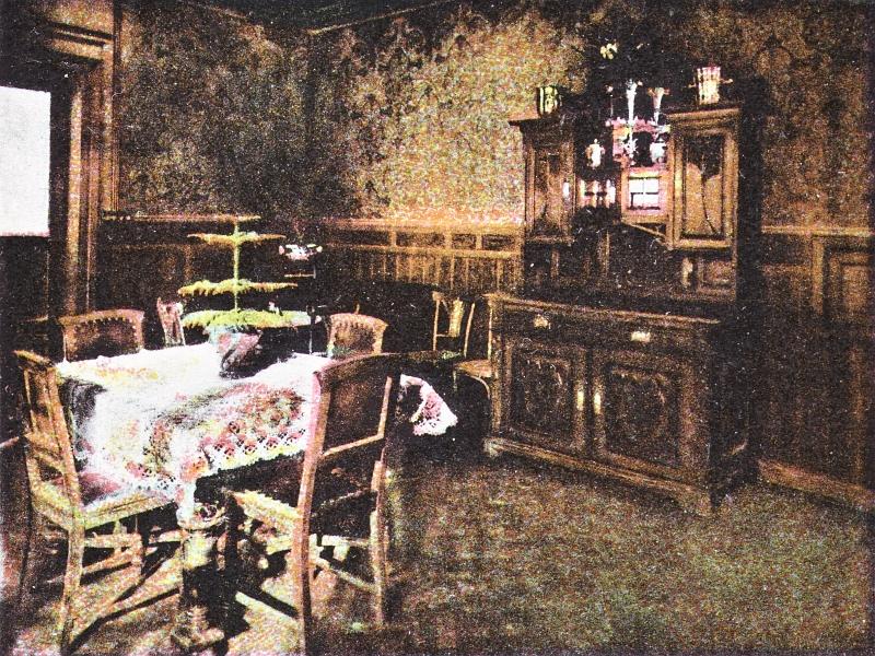 Kappeln - Central-Hotel - Speisezimmer (1910)