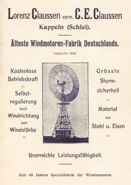 Kappeln - Fabrik Lorenz Claussen