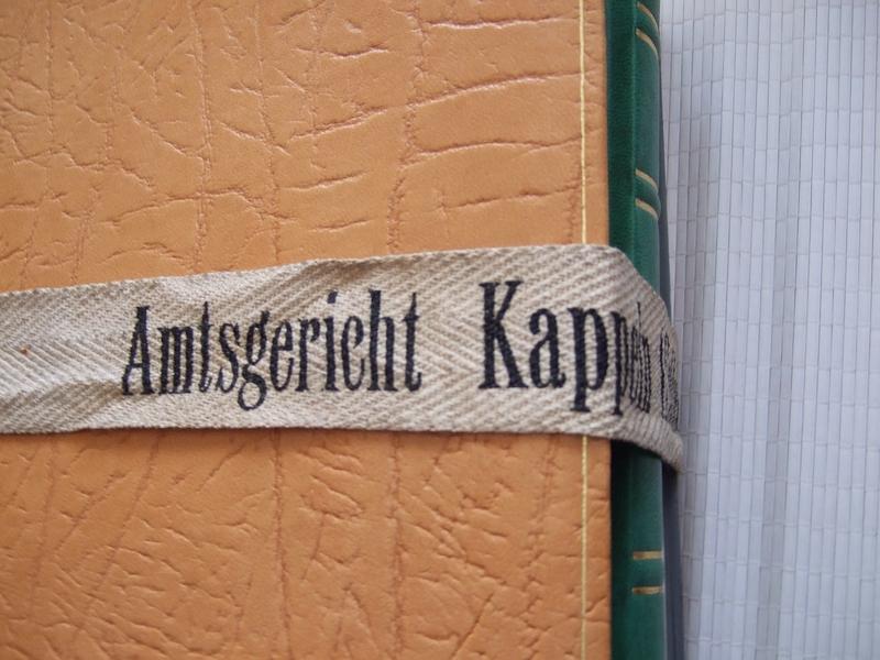 Amtsgericht Kappeln - Aktengurt