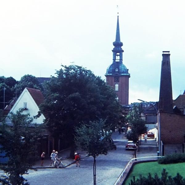 Kappeln - Kirchstraße/Lusthof - Foto: Manfred Rakoschek (1968)
