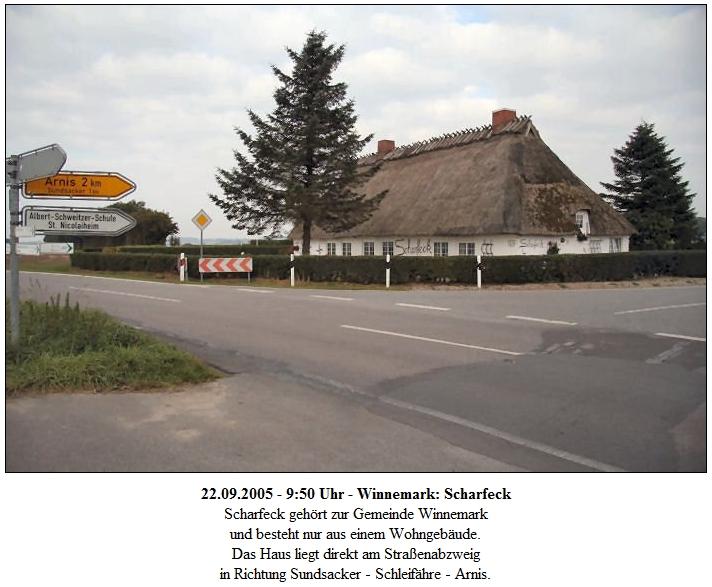 Scharfeck - Foto: Eckhard Schmidt (2005)