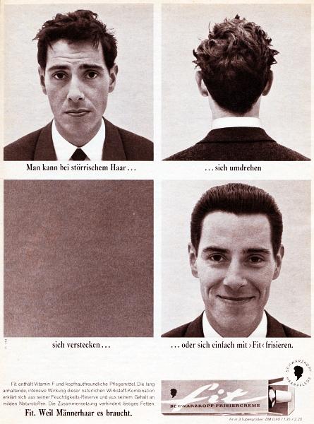 fit - Schwarzkopf-Anzeige von 1964