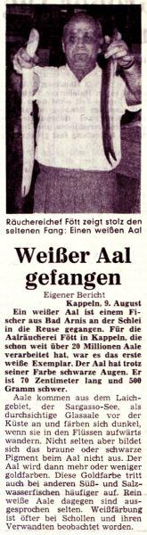 Hamburger Abendblatt vom 09.08.1969
