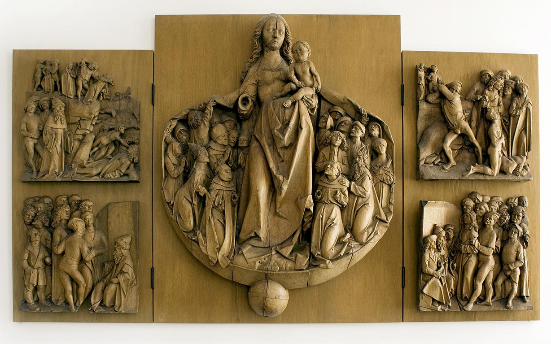 Haselauer Marienretabel - Skulpturensammlung - Museum für Kunst und Kulturgeschichte