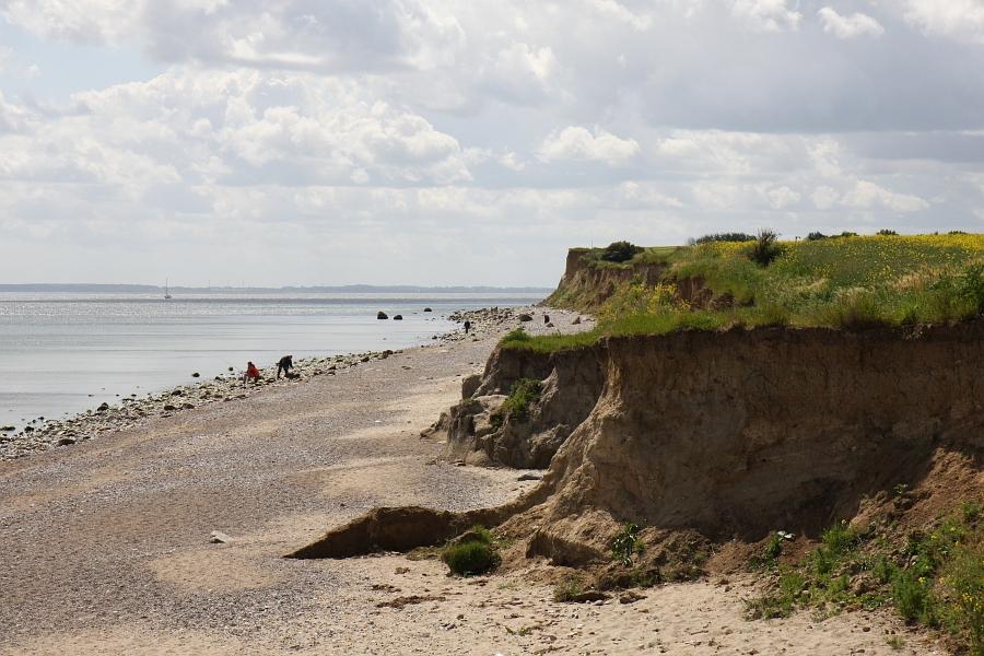 Steilküste bei Schönhagen - Foto: Holger Petersen (2009)