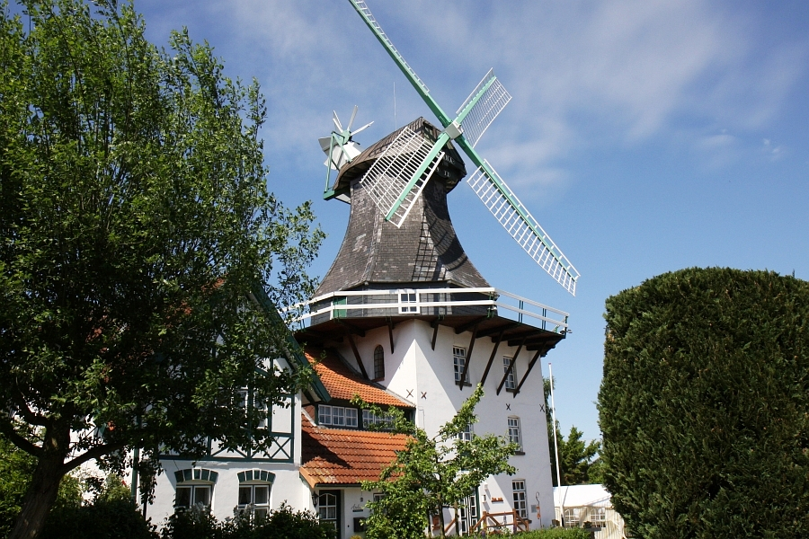 Heimatmuseum Rieseby - Mühle Anna - Foto: Holger Petersen