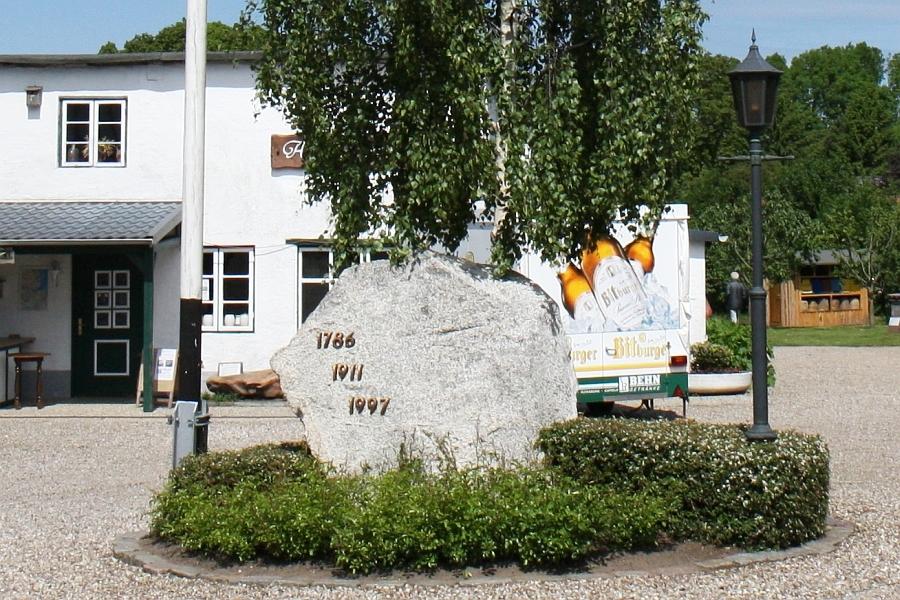 Heimatmuseum Rieseby - Findling - Foto: Holger Petersen