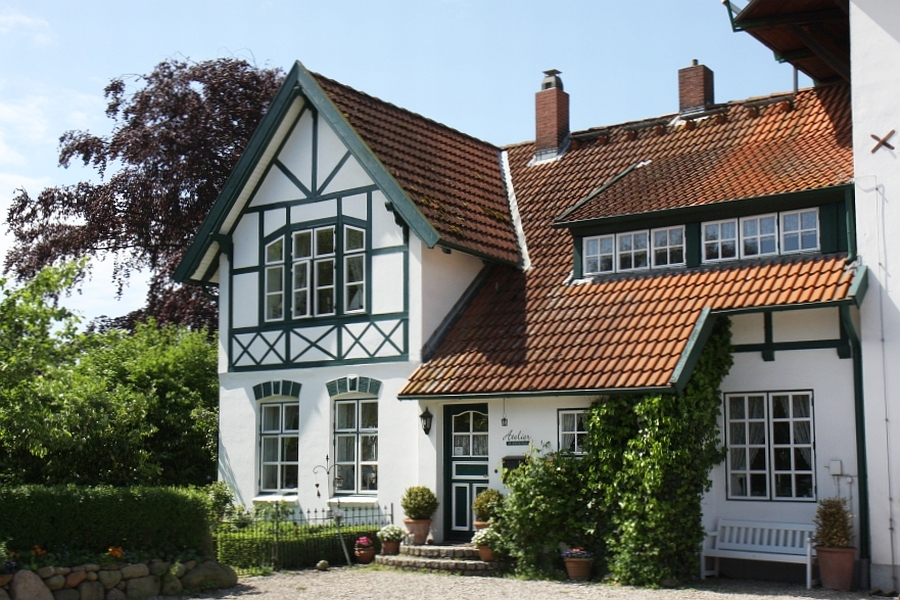 Heimatmuseum Rieseby - Atelier - Foto: Holger Petersen