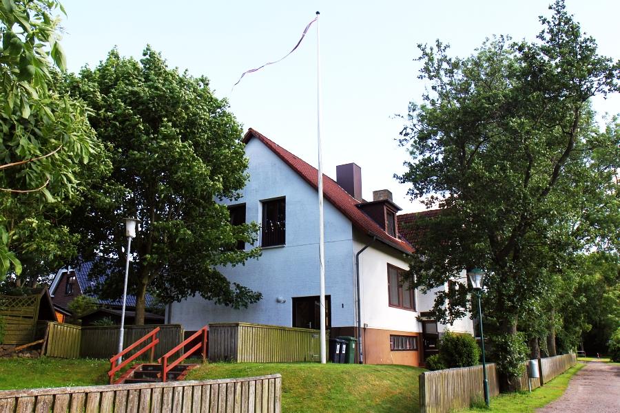 Arnis - Ehemalige dänische Schule - Foto: Holger Petersen (12.06.2014)