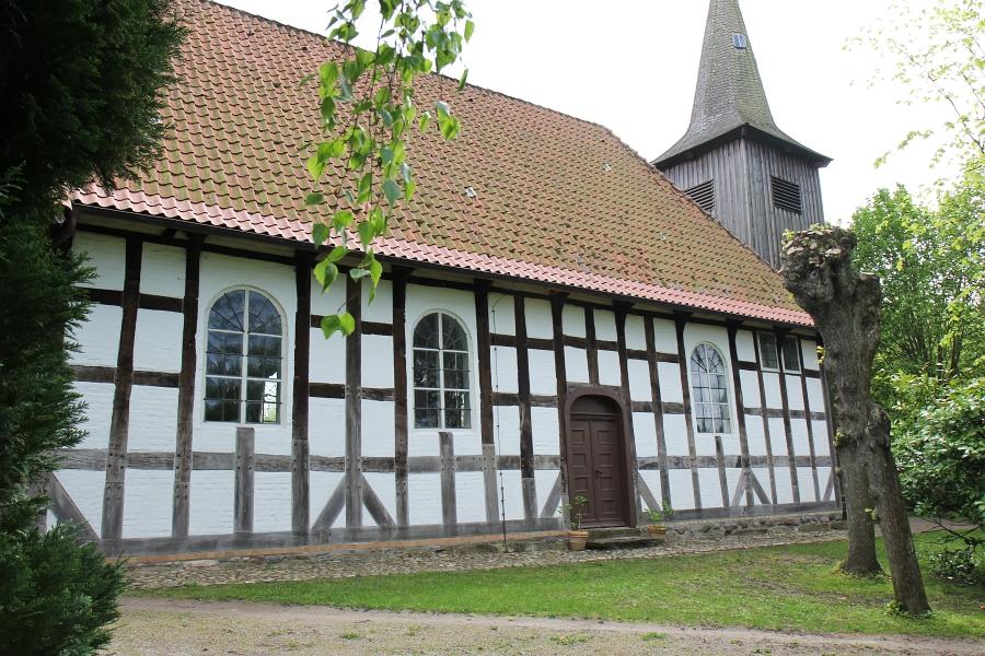 Arnis - Schifferkirche - Foto: Holger Petersen (12.05.2015)
