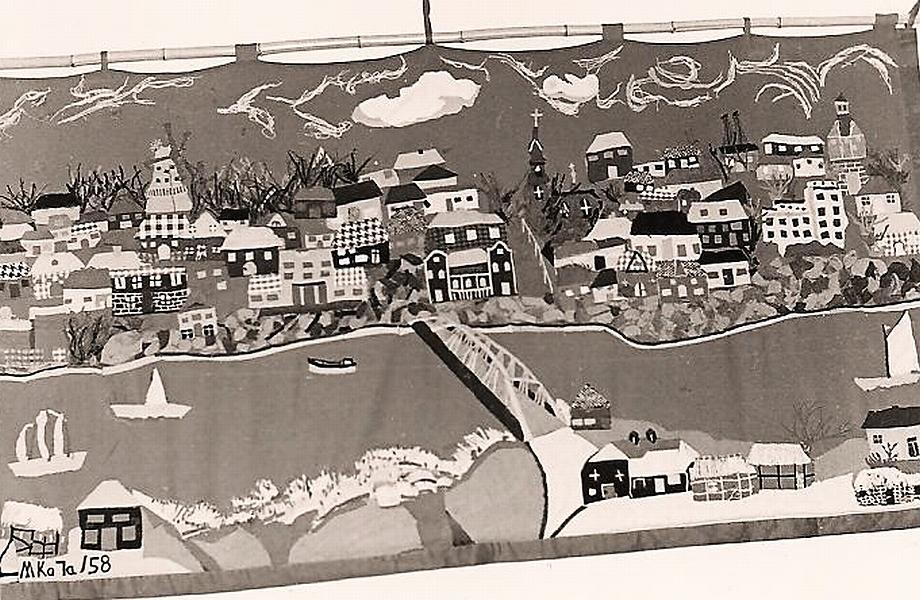 Mittelschule Kappeln - Wandteppich 1958