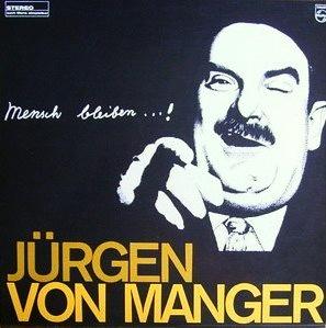 Jürgen von Manger - LP-Cover