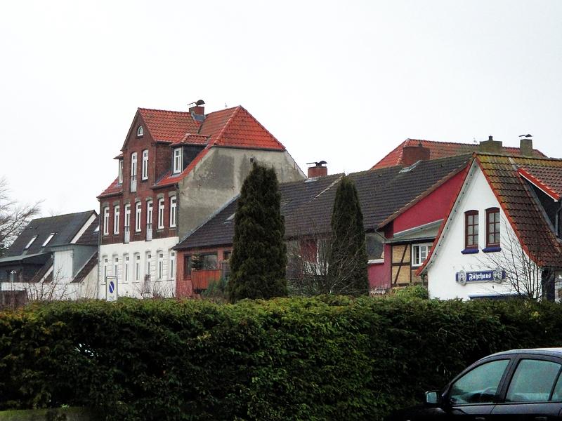 Arnis - Lange Straße (Rückansicht) - Foto: Michaela Fiering (06.01.2013)