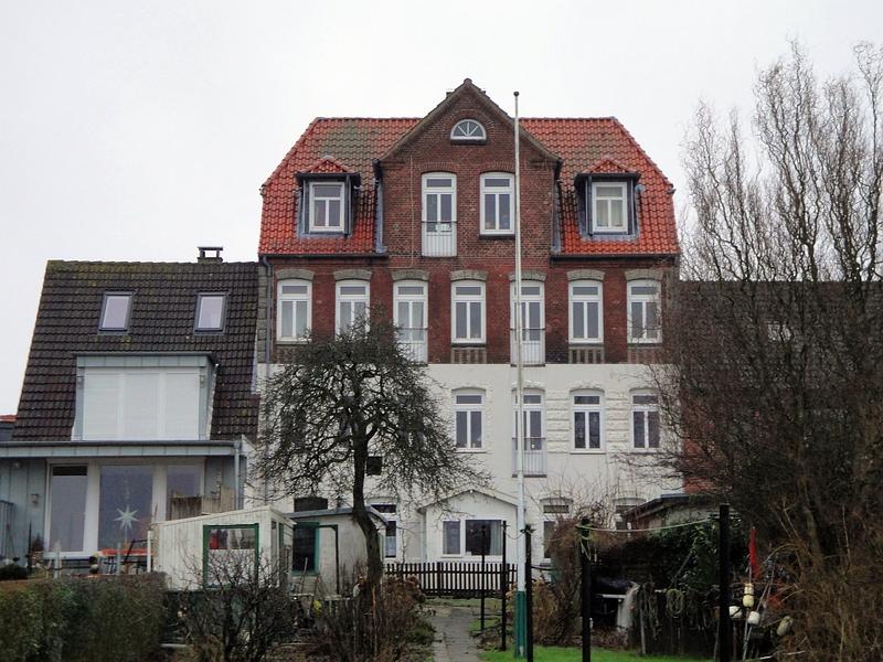 Arnis - Lange Straße 17 (Rückansicht) - Foto: Michaela Fiering (06.01.2013)