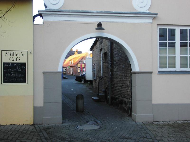 Jöns-Passage - Foto: Michaela Fiering (04.01.2015)