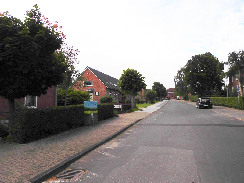 Kappeln - Hindenburgstraße - Foto: Michaela Bielke (16.07.2016)