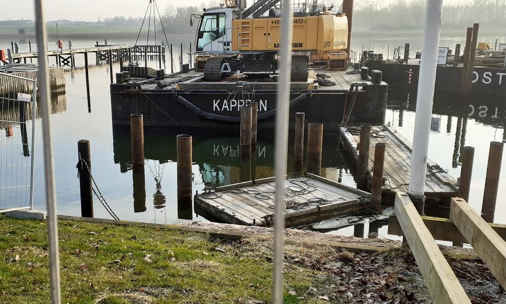 Kappeln - Fin Marine Service - Foto: Michaela Fiering (17.01.2021)