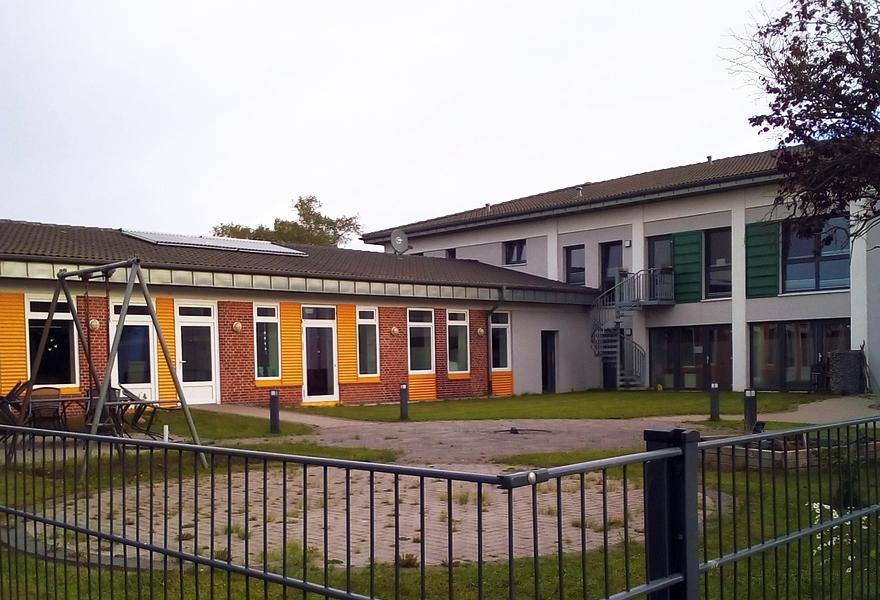 Dörphof - ehemalige Meierei - Foto: Maren Sievers (10.10.2021)