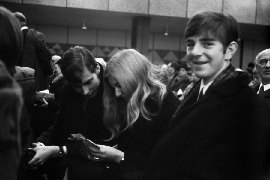 CAU Kiel - Foto: Manfred Rakoschek (16.11.1968)