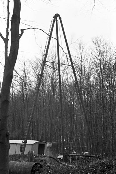 Brunnenbohrung - Foto: Manfred Rakoschek (1968)
