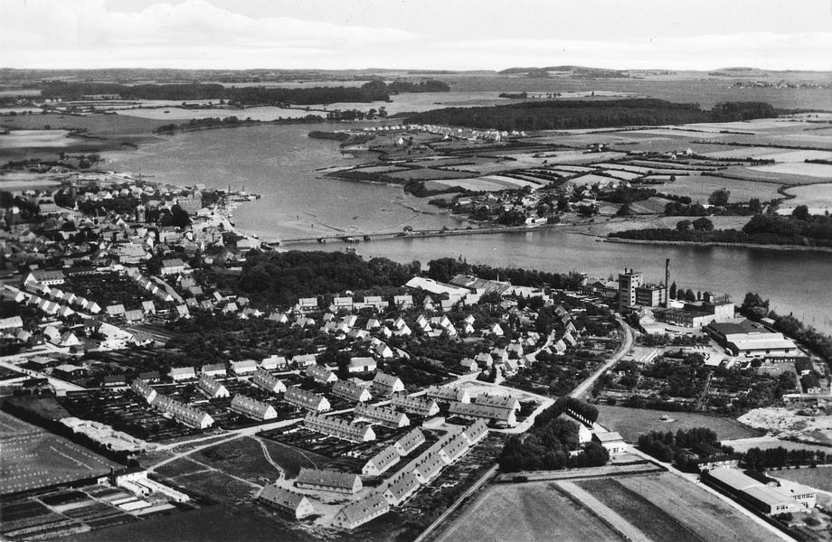 Kappeln - Luftbild (50er-Jahre)