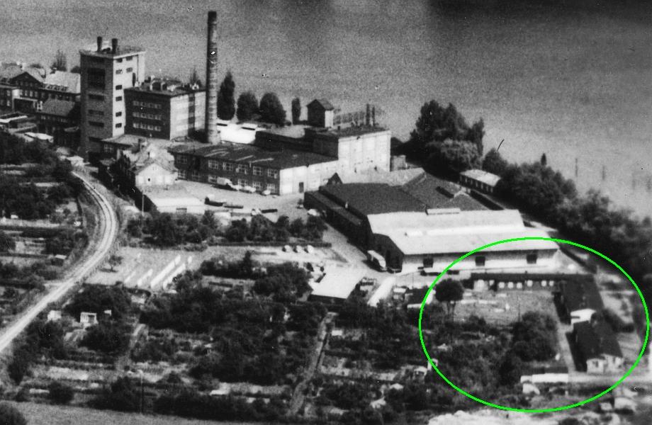 Kappeln - Nestlé-Baracken (50er-Jahre)