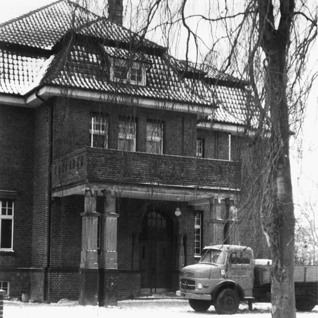 Kappeln - Nestlé-Villa - Foto: Helmut Dürkop (Winter 1966/67) - © Stadtarchiv Kappeln