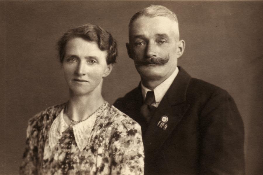 Bauer Nissen und Frau - Grödersby