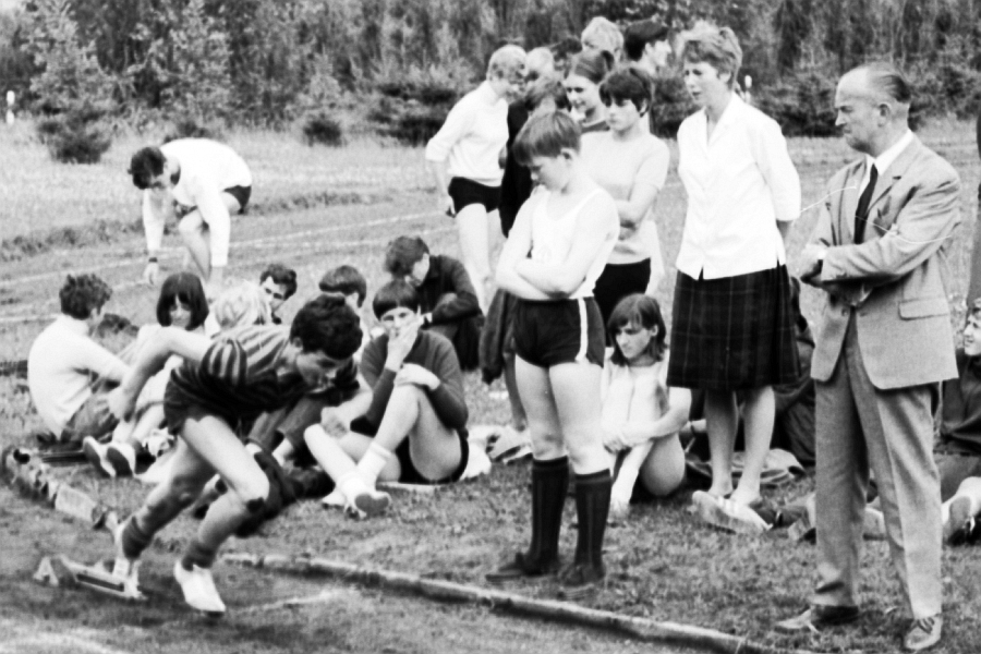 Klaus-Harms-Schule - Bundesjugendspiele 1967 - Christa Beese