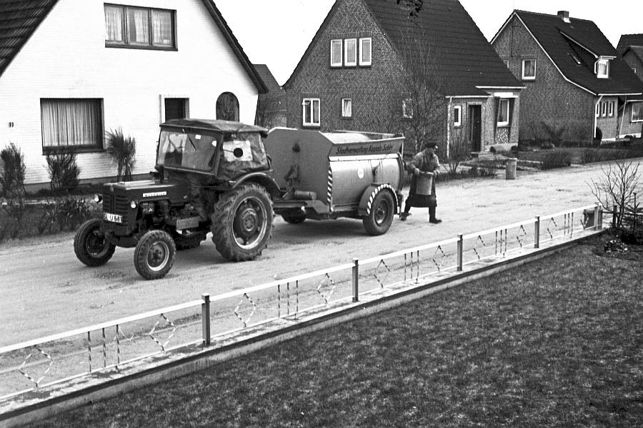 Kappeln - Müllabfuhr (Dezember 1967)