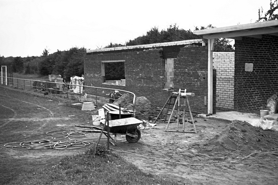 Bilderrätsel Nr. 107 - Kappeln - TSV-Heim (1968)