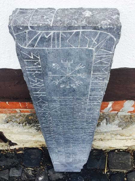 Arnis - Runenstein von 2017