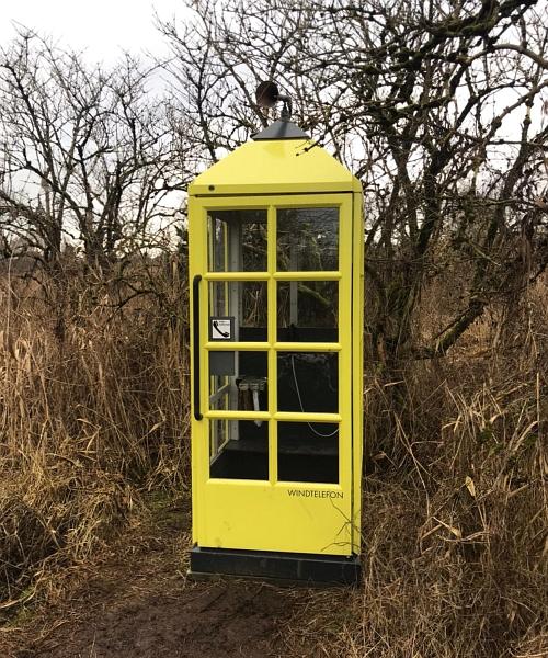 Arnis - Windtelefon - Foto: Regina Blätz (04.02.2020)